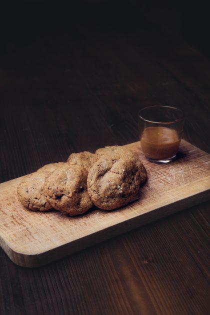 Les cookies à la fleur de sel