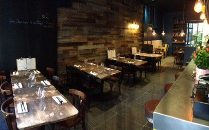 La première salle - le Bar